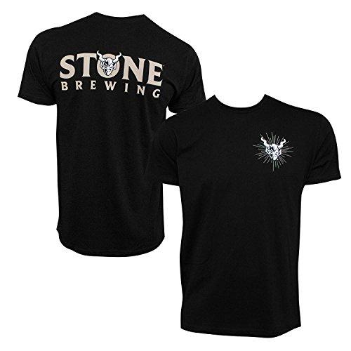 Stone Brewing Devil Logo Men's Tshirt XX-Large