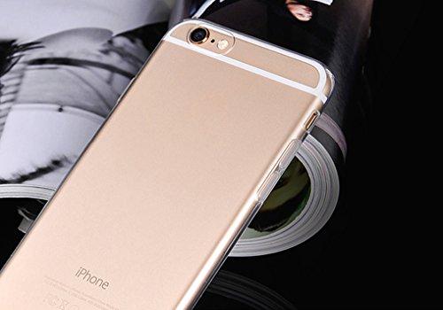iphone 6S Plus 5.5'' Hülle - GIM Ultra Dünn Crystal Clear Handyhülle Silikon Bumper Case Durchsichtige Rückschale für Apple iphone 6 Plus / 6S Plus Transparent Schutzhülle (5.5 Zoll, Transparent)