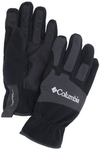 Columbia Men's Eolous Glove (Black, (Columbia Lightweight Gloves)
