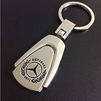 luluda - Llavero de Metal 3D para Mercedes Benz, diseño de Coche