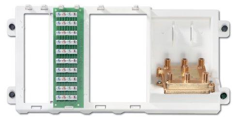 Leviton 47606-BTV Basic Telephone and Video Unit