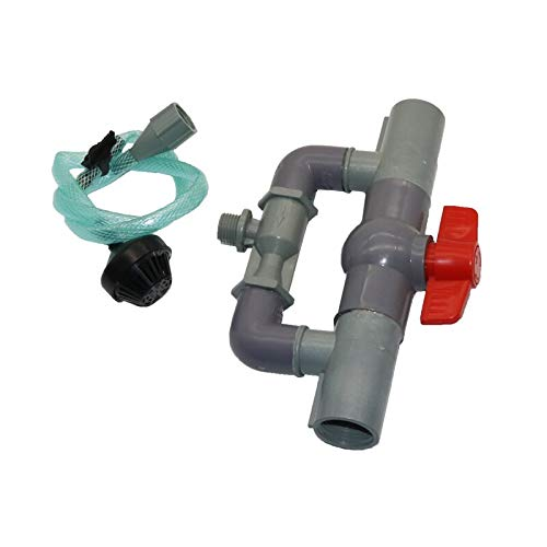 Greenfuture - 1 Set Fertilization System Agricultural Irrigation Equipment and Plant Orchard Crop Spraying Fertilizer Tube Connector