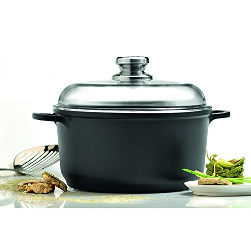 Eurocast Professional Cookware 10'' Stock Pot with Glass Lid by Eurocast