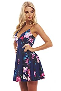 20. AX Paris Women's Strappy Printed Skater Dress