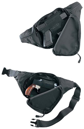 Galco Escort Waistpack for Glock 26, 27, 33, S& W J frame, Ruger SP101, LCR, Sig Sauer P232, P239, Kahr K9, K40, 1911 3-Inch by Galco