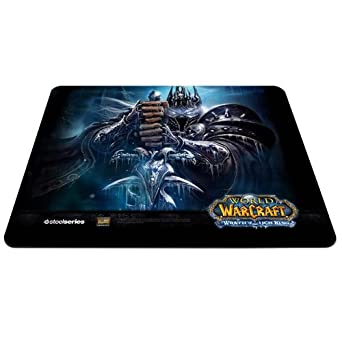 World Of Warcraft Mousepad Steelseries Qck Limited Edition Wrath Of The Lich King Games