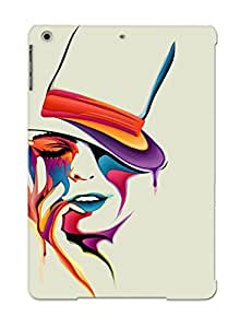 Ellent Design Woman With A Hat Phone Case For Ipad Air Premium Tpu Case For Thanksgiving Day's Gift