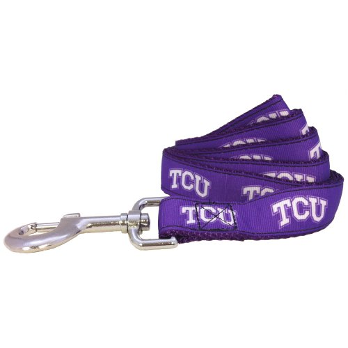 NCAA TCU Horned Frogs Dog Leash (Team Color, Large)