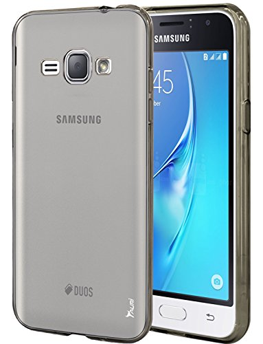 Slim Shockproof Case for Samsung Galaxy J1 (Black) - 3