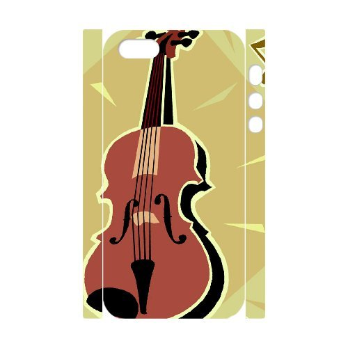 SYYCH Phone case Of Personalized Design Violin 2 Cover Case For iPhone 5,5S