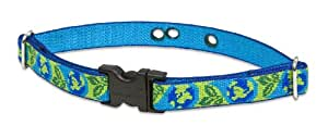 LupinePet Earth Day Containment Collar Strap for Large Dogs, 3/4-Inch Width
