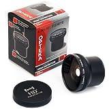 Opteka HD2 0.20X Professional Super AF Fisheye Lens for Sony DSR-PD170 PD150 VX2100 MiniDV Camcorder