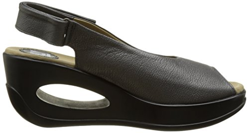 Fly London Women's Hett889fly Wedge Sandals Grey (Graphite 007) clearance with paypal discount geniue stockist buy cheap visa payment new styles for sale W4Etl9hU