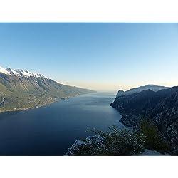 LAMINATED 32x24 Poster: Garda Lake Monte Baldo Monte Baldo Solid Mountains Monte Cas Bocca Larici
