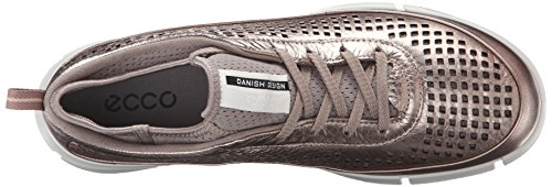 Ecco Donna Sneaker Intramontabile Fashion Sneaker Warm Grey / Metallic
