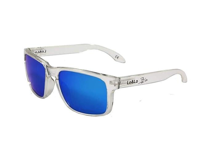 Gafas de sol polarizadas Padel deportivas y casuales Bela Transparent Blue: Amazon.es: Ropa y accesorios