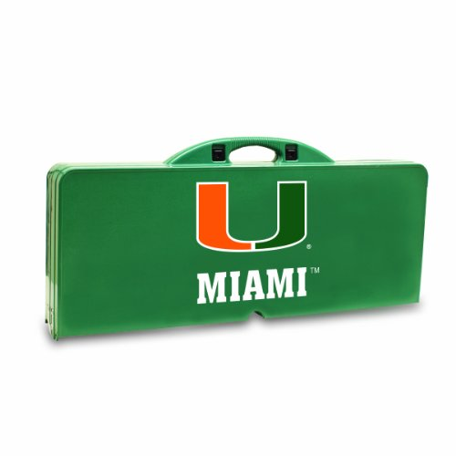 NCAA Miami Hurricanes Portable Picnic Table