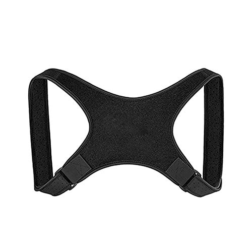 Posture Corrector Spinal Support, Doctor-Designed for Men & Women for Back and Shoulders Pain Relief, Clavicle Support Adjustable - Support & Proper PostureBrace,D