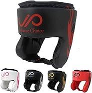 JP Boxing Headgear for Kids, Synthetic Leather MMA Headgear, UFC Fighting Head Guard Sparring Helmet,