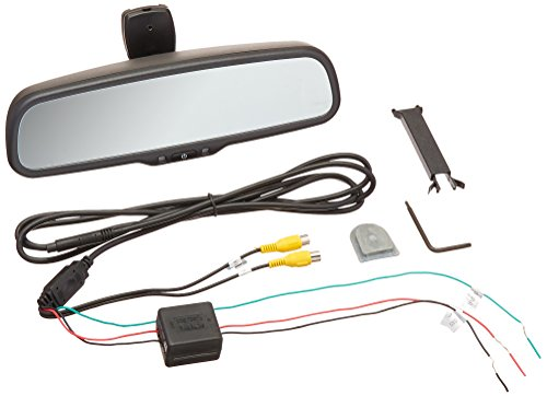Replacement Rear-View Mirror with 4.3 TFT-LCD Backup Camera Monitor BOYO VTM43M