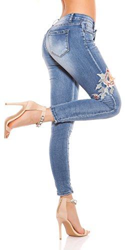 Bleu Koucla Jeans Bleu Jeans Femme Femme Koucla Koucla RwpZTTxqd