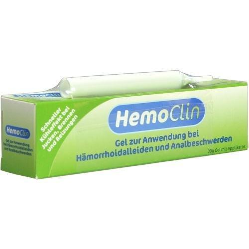 HEMOCLIN HÄMORRHOIDEN GEL 30G 2217324