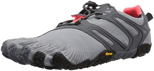 Vibram Women's V Trail Runner Grey/Black/Orange 37 EU/6.5 M US by Vibram (Image #1)