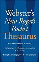 HOUGHTON MIFFLIN WEBSTERS NEW ROGETS THESAURUS (Set of 12)
