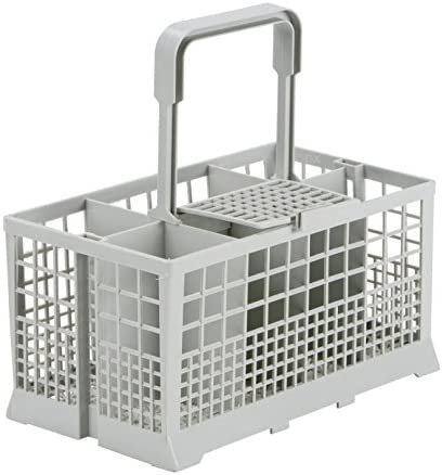Smeg Besteckkorb pour lave-vaisselle gris 19,4 x 15 x 9,4 cm