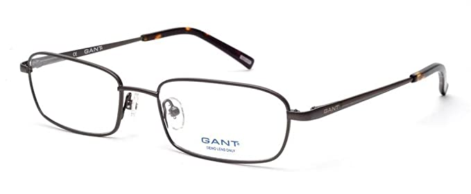 Gant Glasses Men G CHAMBERS GUN Gunmetal Full Frame: Amazon.ca ...