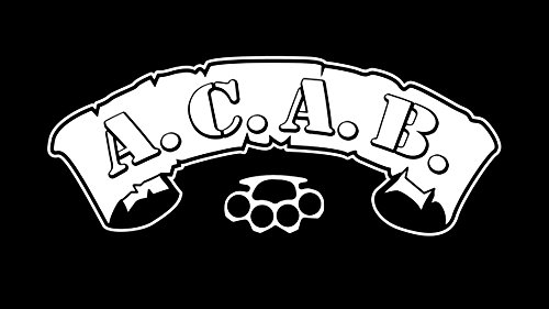 A.C.A.B ACAB ALL COPS ARE BASTARDS FUN T-SHIRT -136