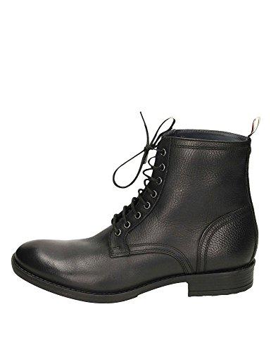 Frank Wright Men's Birch Men's Black Leather Boots Leather Black Nuevos Estilos Para La Venta ofxJk8