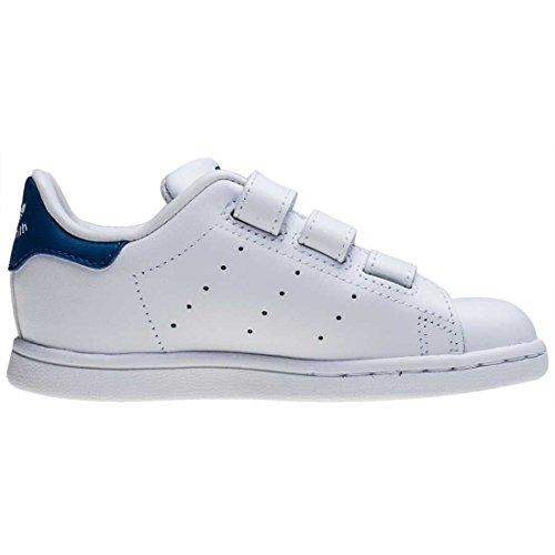 adidas Stan Smith Cf I Bambino Piccolo Formatori White Blue - K8 UK