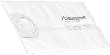 Cleancraft 7010251 Filterbeutel Ohne Nähte 2 L Für Staubsauger 5 Stück Gewerbe Industrie Wissenschaft