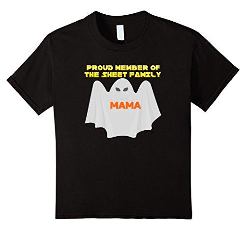 Easiest Halloween Costumes For Kids (Kids Mama Sheet Easiest Halloween Costume Ever Tshirt Kids Adults 10 Black)
