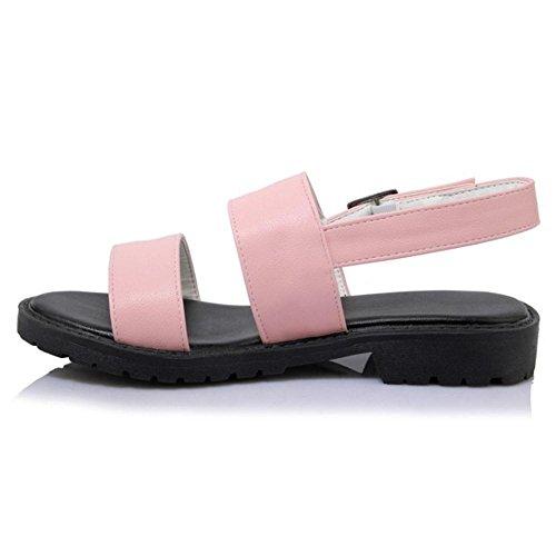 Pink Scarpe Sandali Fibbia TAOFFEN Donna qFBUq6wI