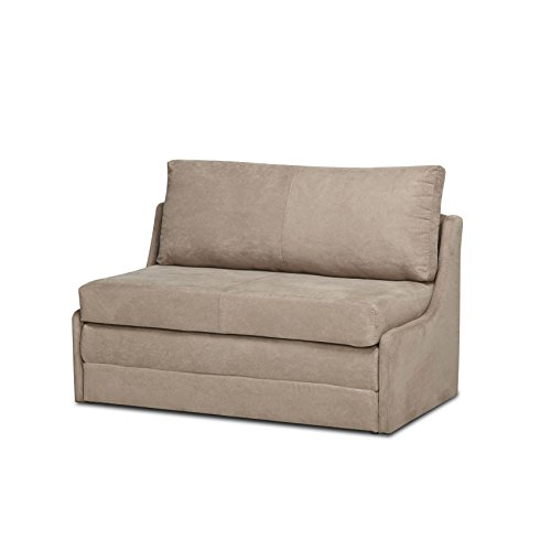 - Gold Sparrow ADC-ALB-CLS-NJX-COC Albany Cocoa Convertible Loveseat Sleeper,