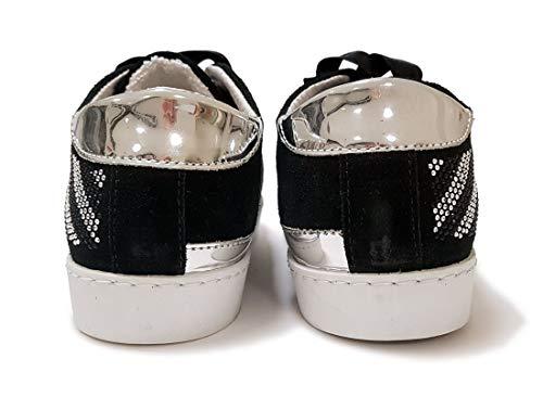 Donna Zebra Eu Rarissime Microborchiatura Italy In Strisce 37 Camoscio Crosta Limitata Edizione Made A Scandali Sneakers Di Con 100 1UAB5np