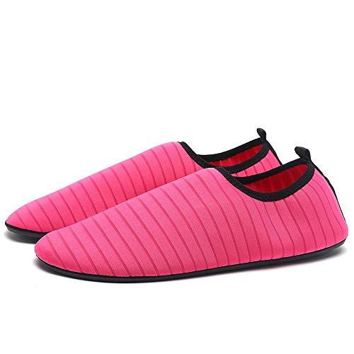 Agua Nadar Ejercicio Dry Zapatos De ALIKEEYWomens Rosa Surf Calcetines Mens Caliente Descalzo Quick Aqua Playa qpwRSvt