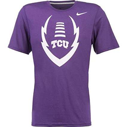 0fc8a507a43a Amazon.com   NIKE TCU Horned Frogs Dri-FIT Youth Football T-Shirt ...