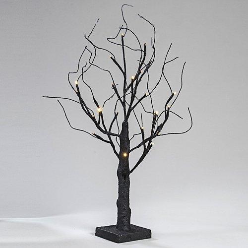 Black Light Up Tree -