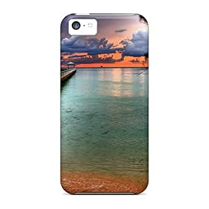 Awesome Case Cover/iphone 5c Defender Case Cover(rum Point On The Cayman Isl)