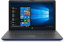"""HP 15-da0197ns- Ordenador portátil de 15.6"""" HD (Intel Core i3-7020U, 8 GB de RAM, 128GB SDD, Intel UHD Graphics, Windows 10) Azul Lumieres - teclado QWERTY Español"""