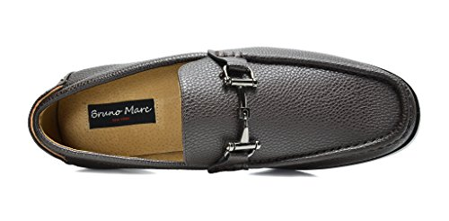 Bruno Marc Mens Harry-01 Abito Mocassini Scarpe Caffè