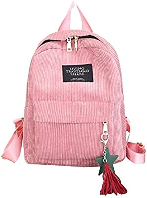 dd42f5a454d4 Sunbona (TM) Schoolbag For Women's Fashion Canvas Tassel School Bags ...