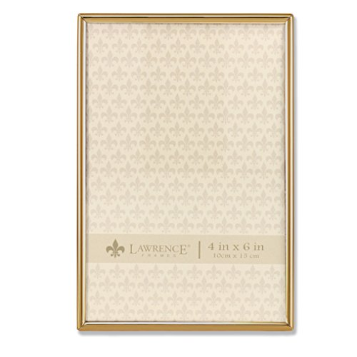 Lawrence Frames 4x6 Simply Gold Metal Picture (4x6 Gold Frames)