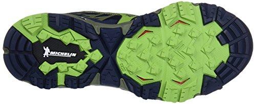 de Mujin Running Zapatillas Hombre 4 Dressbluesgreeneryolivine G TX para Multicolor Wave Mizuno xY5RAwqgf