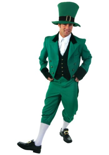 [Plus Size Leprechaun Costume] (St Patrick Day Costumes Plus Size)