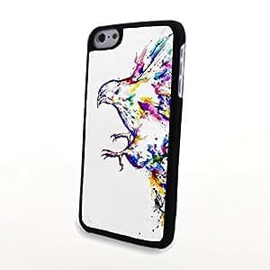 linJUN FENGGeneric PC Phone Cases Colorful Vivid Cute Bird Matte Pattern fit for 3D Comic iphone 5/5s Case