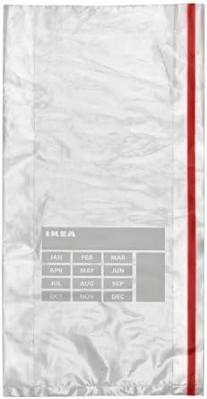 IKEA FORNYBAR - Paquete de 40 bolsas para congelador de 3 litros ...
